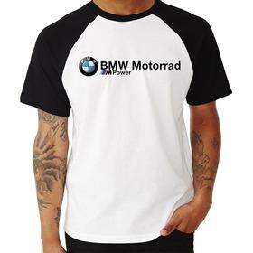 Camiseta Raglan Bmw Motorrad M Power