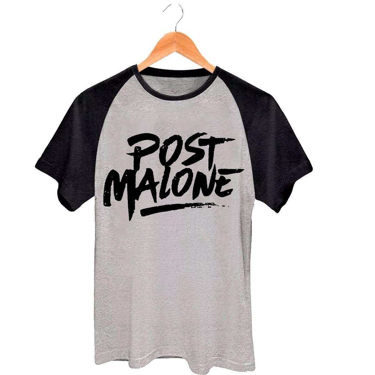 03db1612f camiseta raglan camisa roupa rapper post malone unissex. Carregando zoom.