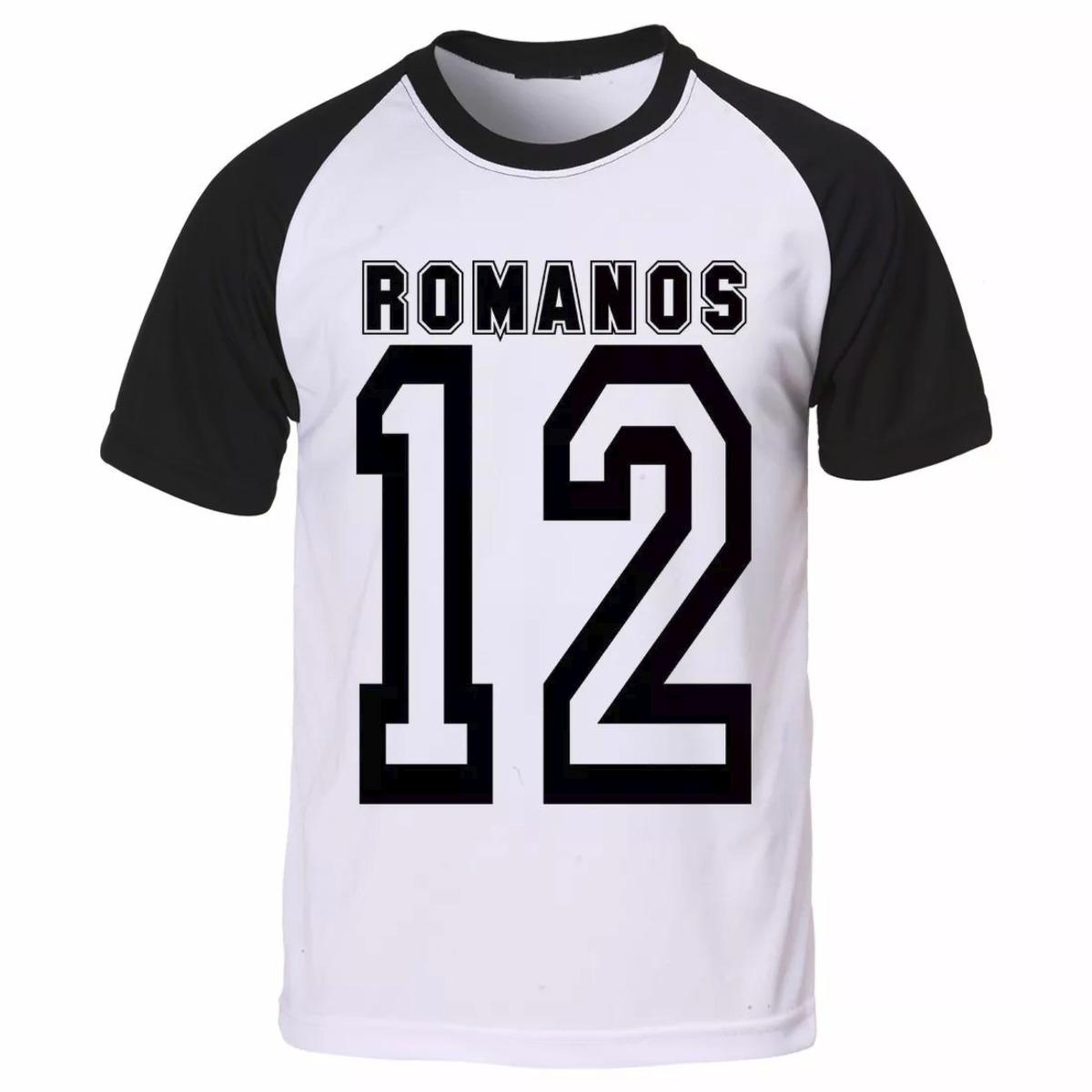 Camiseta Raglan Gospel Evangélica Romanos 12 Camisa - R  31 867af3a5c77f6