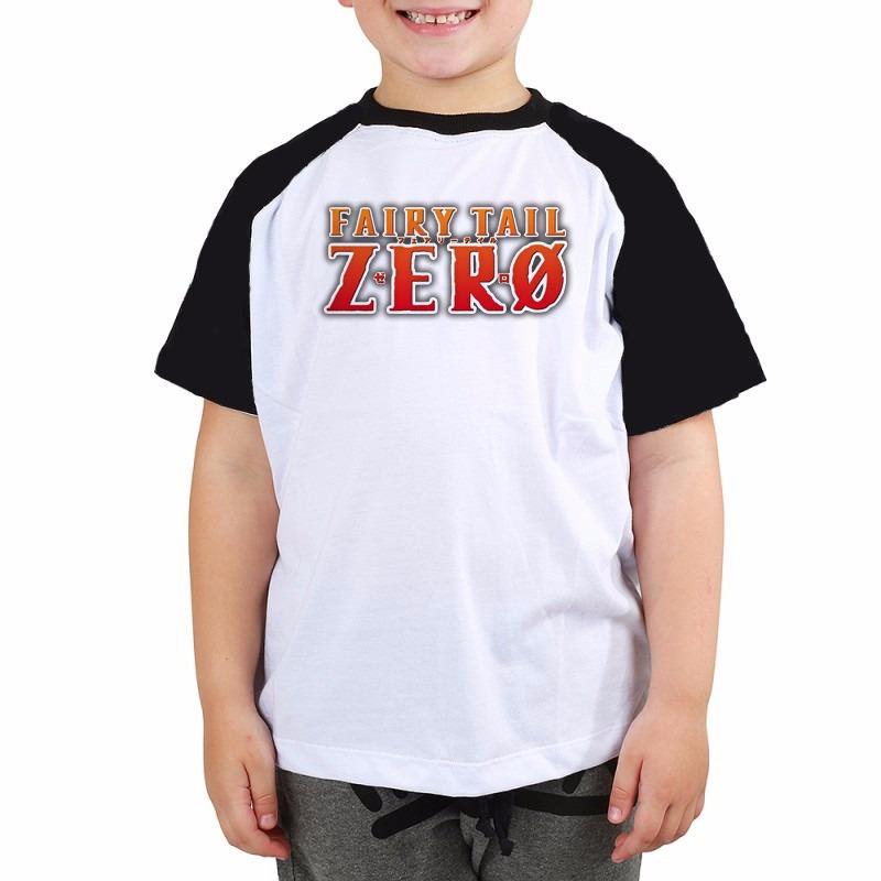 97f58291db camiseta raglan infantil raglan fairy tail logo anime. Carregando zoom.