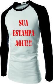 a1bdde0413 Camiseta Raglan - Camisetas Masculino no Mercado Livre Brasil