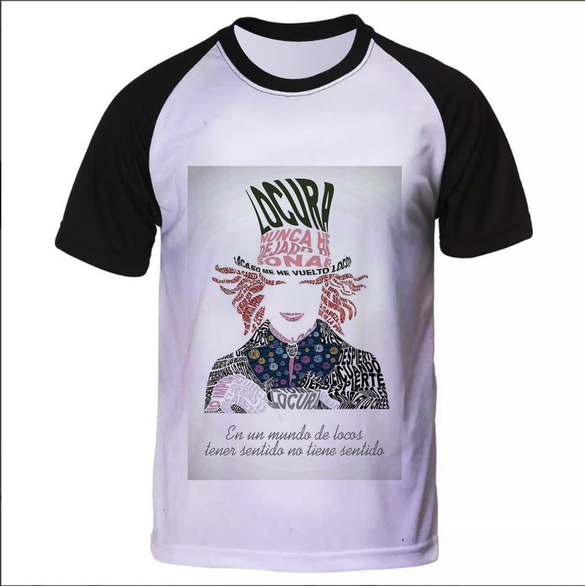 1fe791124 camiseta raglan personaliza chapeleiro maluco frases n.1372. Carregando  zoom.