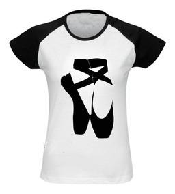 be3d780453 Sapatilha - Camisetas Manga Curta para Feminino com o Melhores Preços no  Mercado Livre Brasil