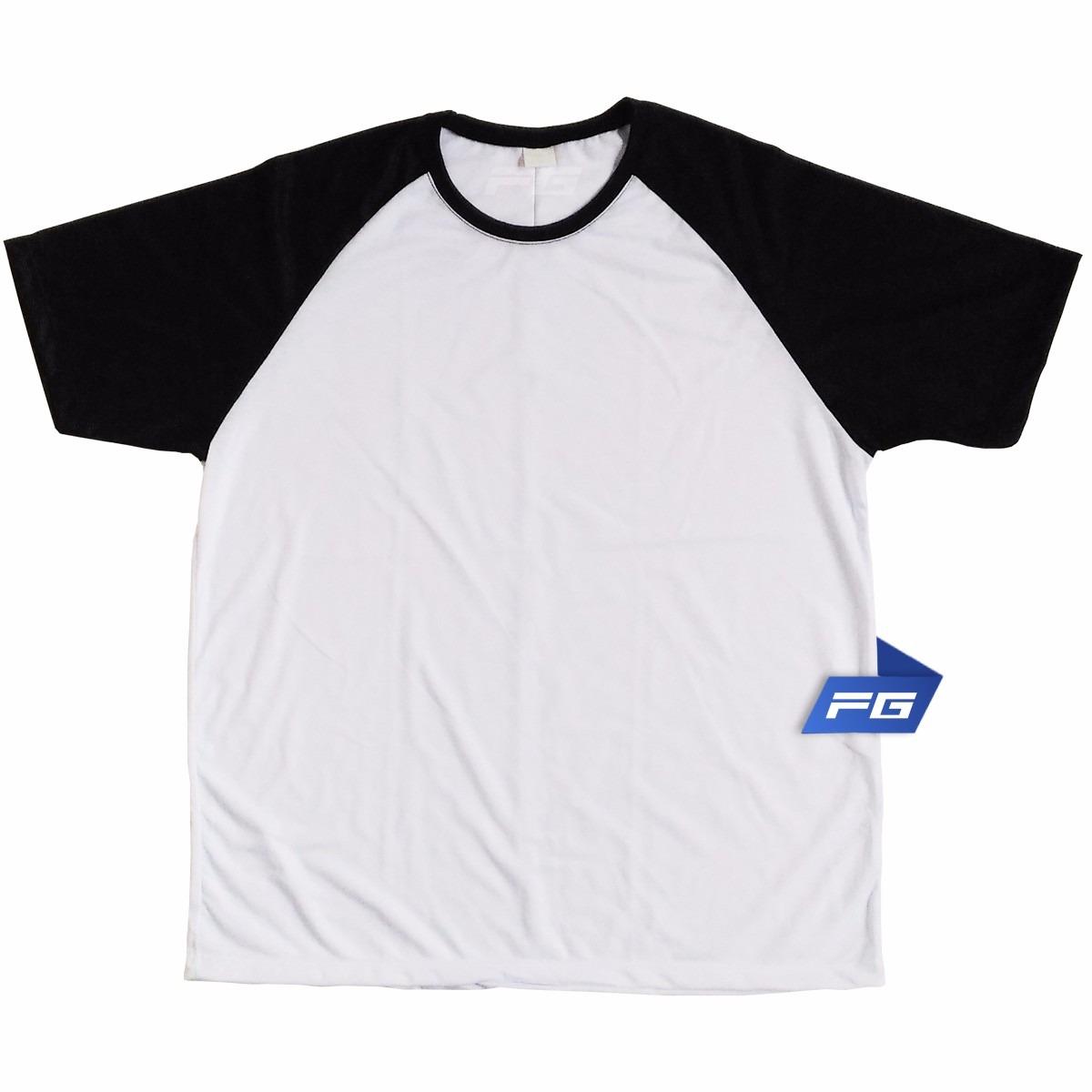 e44d37252 Camiseta Raglan Silk Srcreen 100% Poliéster Para Sublimação - R  12 ...