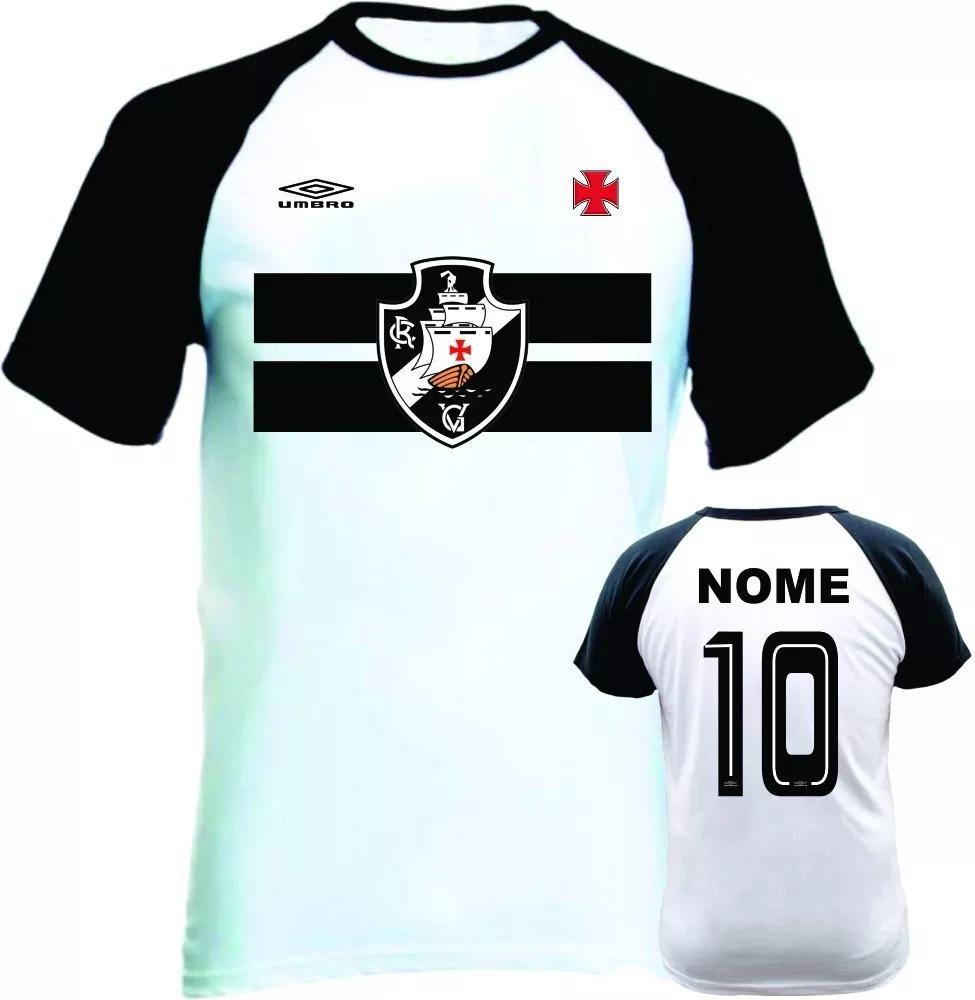 d4377418af1f4 camiseta raglan vasco da gama camisa personalizada com nome. Carregando  zoom.