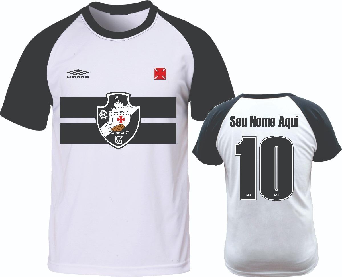 camiseta raglan vasco da gama camisa personalizada com nome. Carregando  zoom. 633e98a201fb0