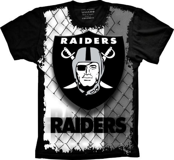 3afec6b92c5d0 Camiseta Raiders Camisa Raiders Uniforme Futebol Americano - R  59 ...