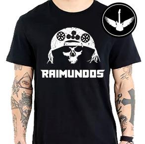Camiseta Raimundos 100% Algodão Blusa Banda Rock Nacional - R  37 e72dc55f74b