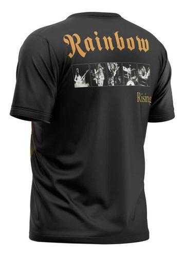 camiseta rainbow rising other side blackmore dio digital