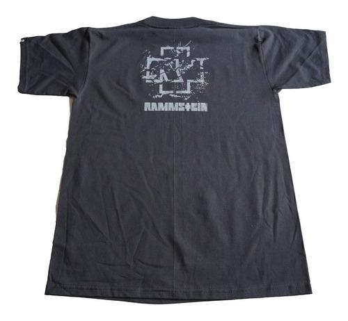 camiseta rammstein rock activity importada talla m