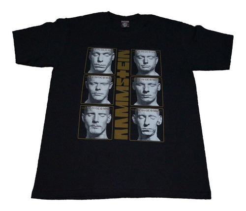 camiseta rammstein rock activity importada talla m l