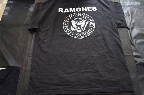 camiseta ramones importada rock activity talla xl