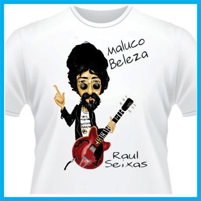 camiseta raul seixas, bandas, rock, maluco beleza, nacional