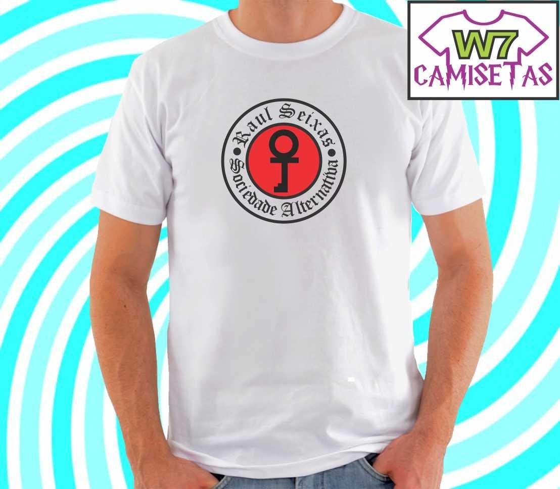 camiseta raul seixas - sociedade alternativa - rock. Carregando zoom. 52a35b37f1063