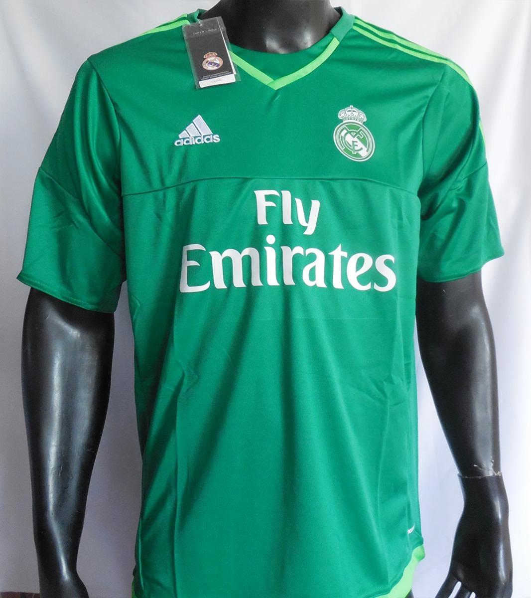 camiseta real madrid 15 16 arquero adidas. Cargando zoom. 4c1ea52c94eb3