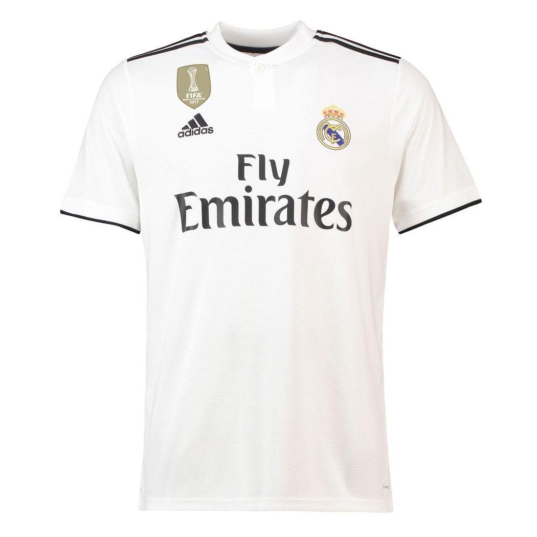 f7cf341853 Camiseta Real Madrid 18-19 Local 2019 -   59.000 en Mercado Libre