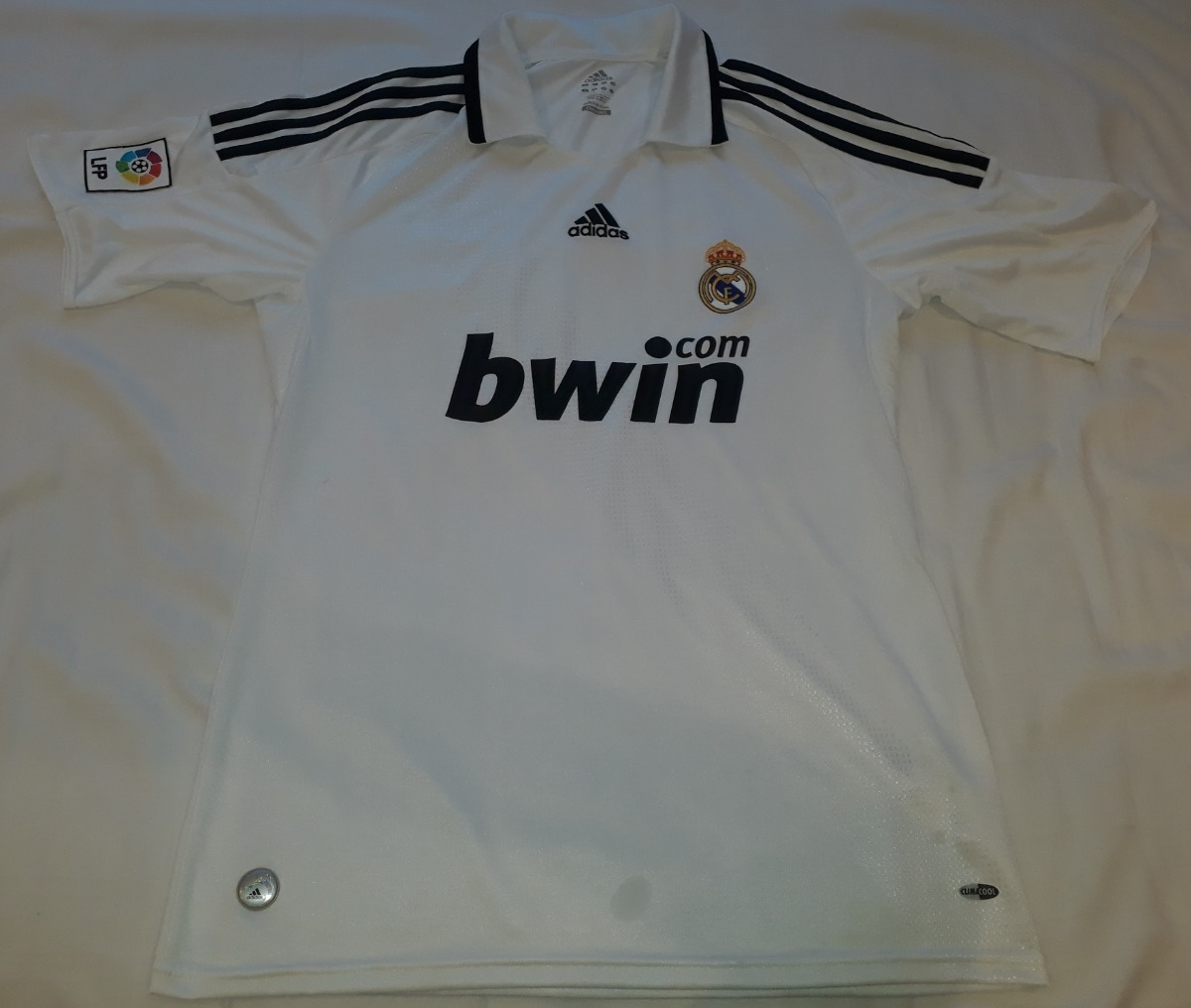 camiseta real madrid 2008   2009 100% original adidas - 08. Carregando zoom. dbc823613b77a