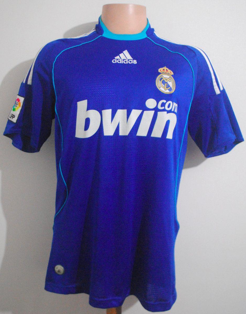 Camiseta Real Madrid 2008 2009 adidas db0321de899ec