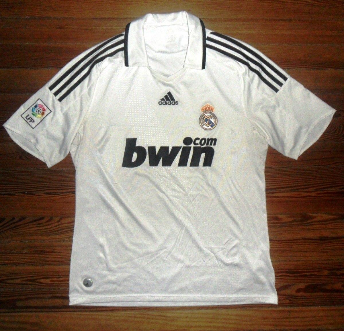bab3b8ac4e011 camiseta real madrid 2008 talle l adidas. Cargando zoom.