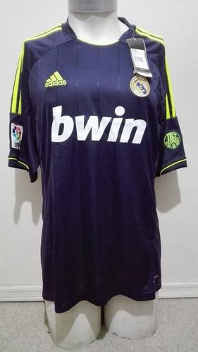 camiseta real madrid 2011-2012 recambio adidas nueva