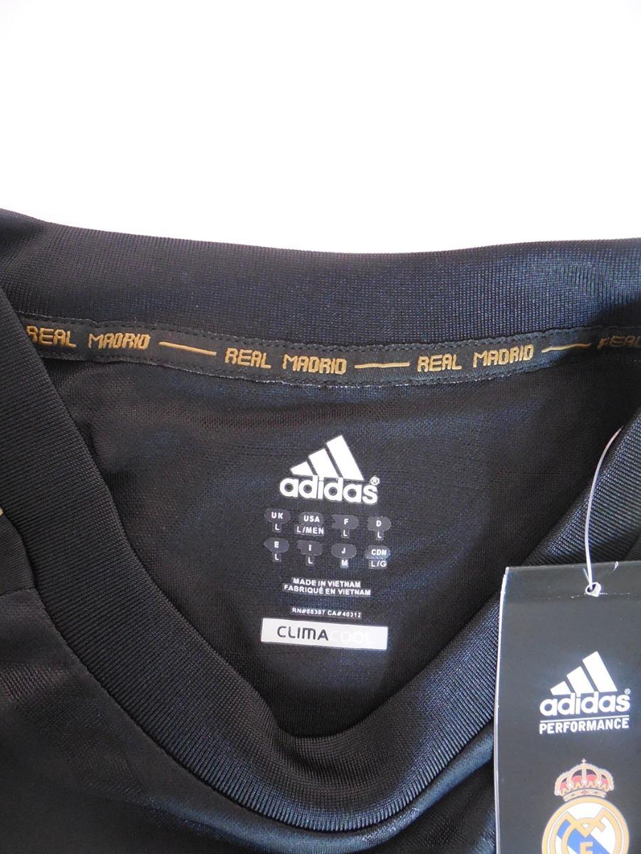 132918effe1e3 camiseta real madrid 2011 - 2012 retro away adidas. Cargando zoom.