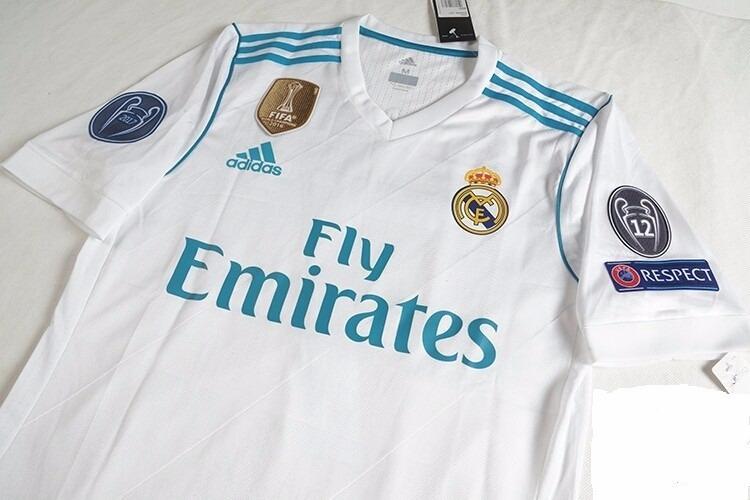 0a6b72c5e9e38 Camiseta Real Madrid 2017 2018 Champions -   161.999 en Mercado Libre