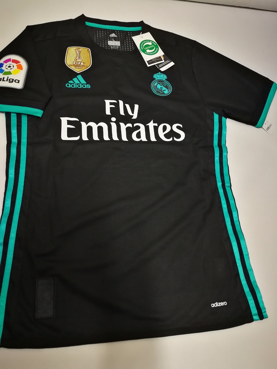 camiseta real madrid 2017 2018 adizero liga campeon de mundo. Cargando zoom. cdb62e130209e