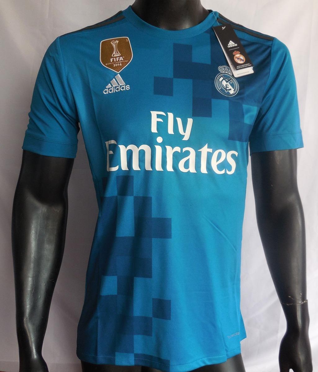 89d776d606d60 camiseta real madrid 2017 2018 tercera adidas. Cargando zoom.