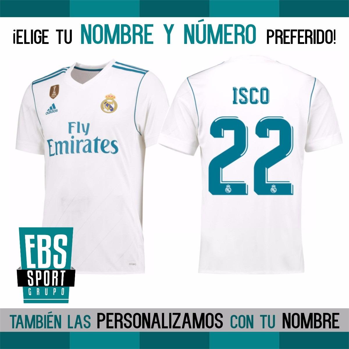 e8f4ab078ce9a camiseta real madrid 2018 adidas personalizada con tu nombre. Cargando zoom.