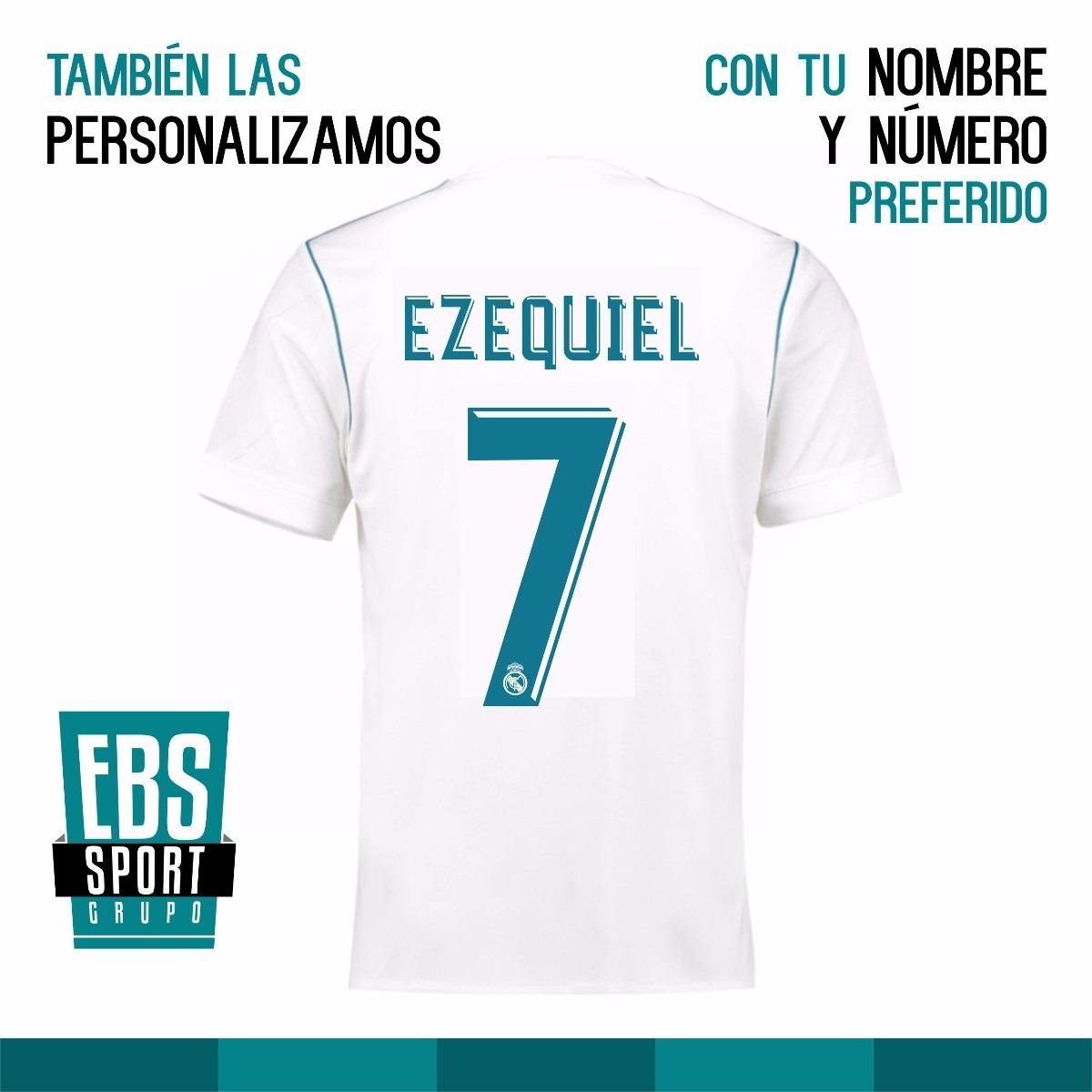 camiseta real madrid 2018 adidas personalizada con tu nombre. Cargando zoom. 6b1ffdf07b413