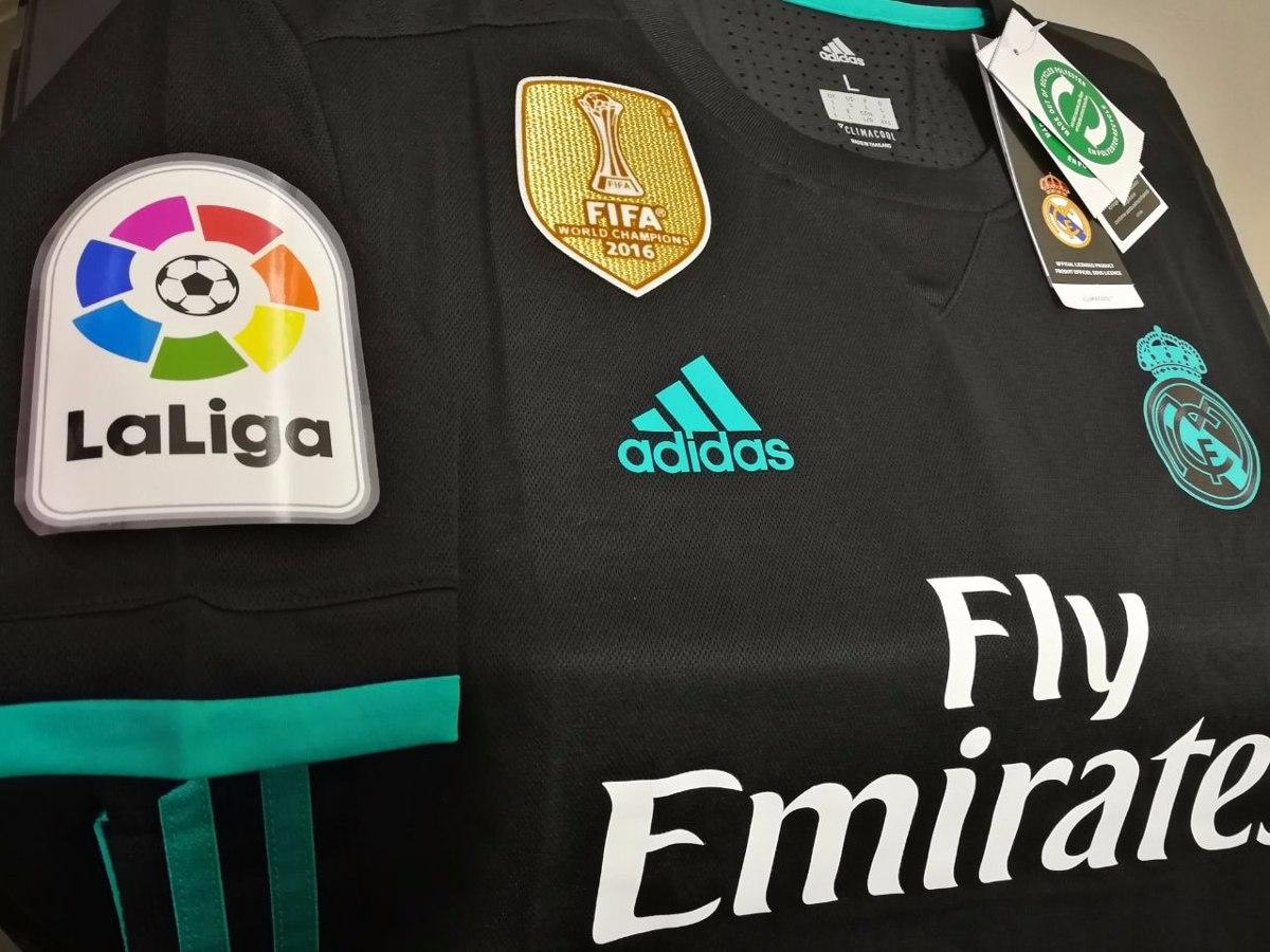 6447baaea28f6 camiseta real madrid 2018 alterna campeón mundial de clubes. Cargando zoom.