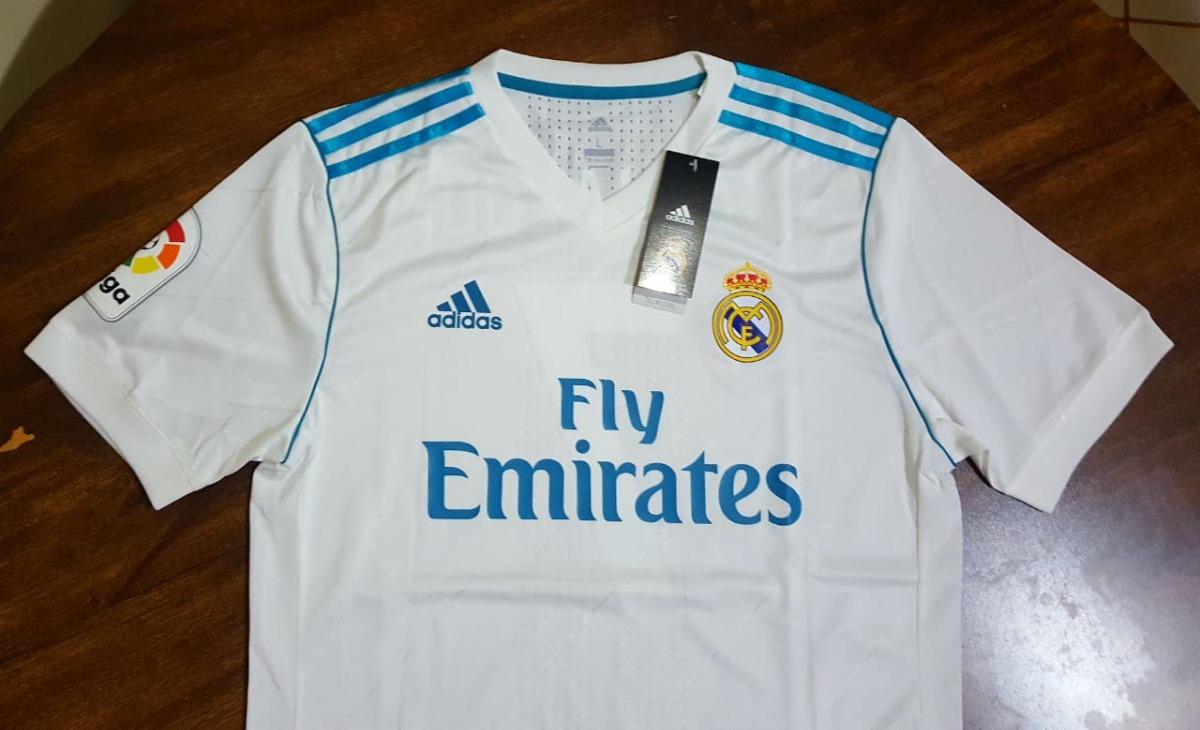 b4390a9f6b Camiseta Real Madrid 2018