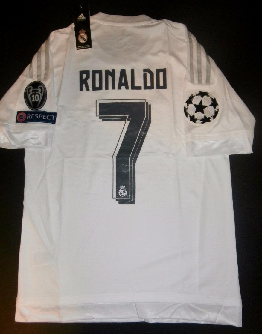 Cargando zoom... real madrid camiseta. Cargando zoom... camiseta real  madrid titular 2016 final champions milan c695314c1f83e
