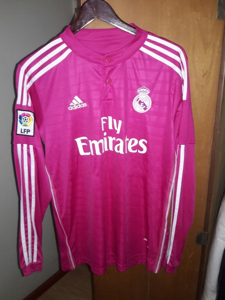 ecf3bd6c2b16a camiseta real madrid manga larga rosa · camiseta real madrid. Cargando zoom.