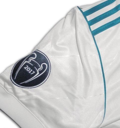 ec955ab2abd0b Camiseta Real Madrid 2017 2018 Champions -   161.999 en Mercado Libre
