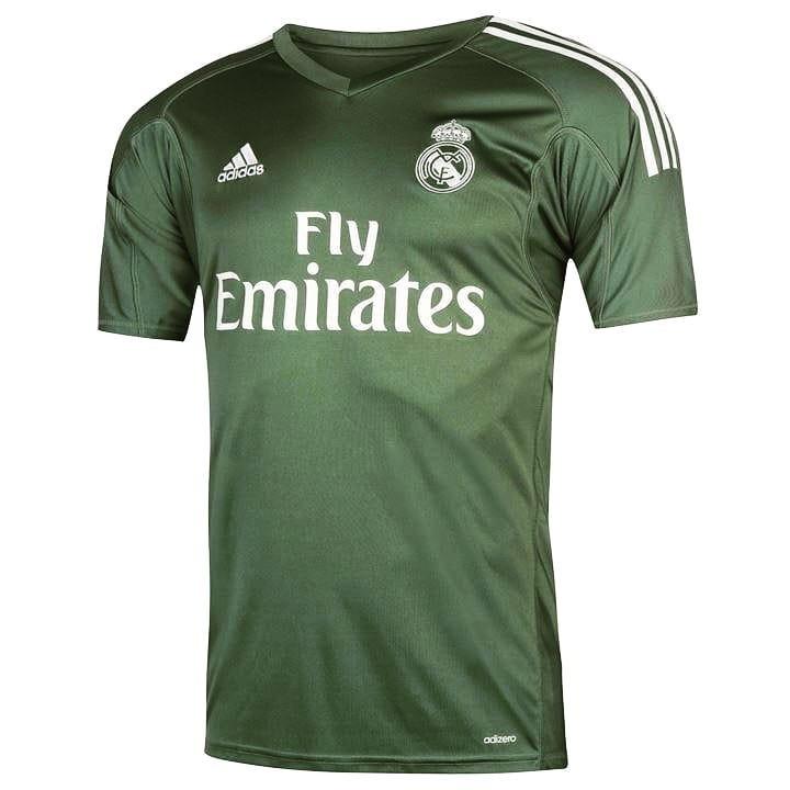 Camiseta Real Madrid Arquero Titular 2018 adidas Original -   800 30fa103d6485a