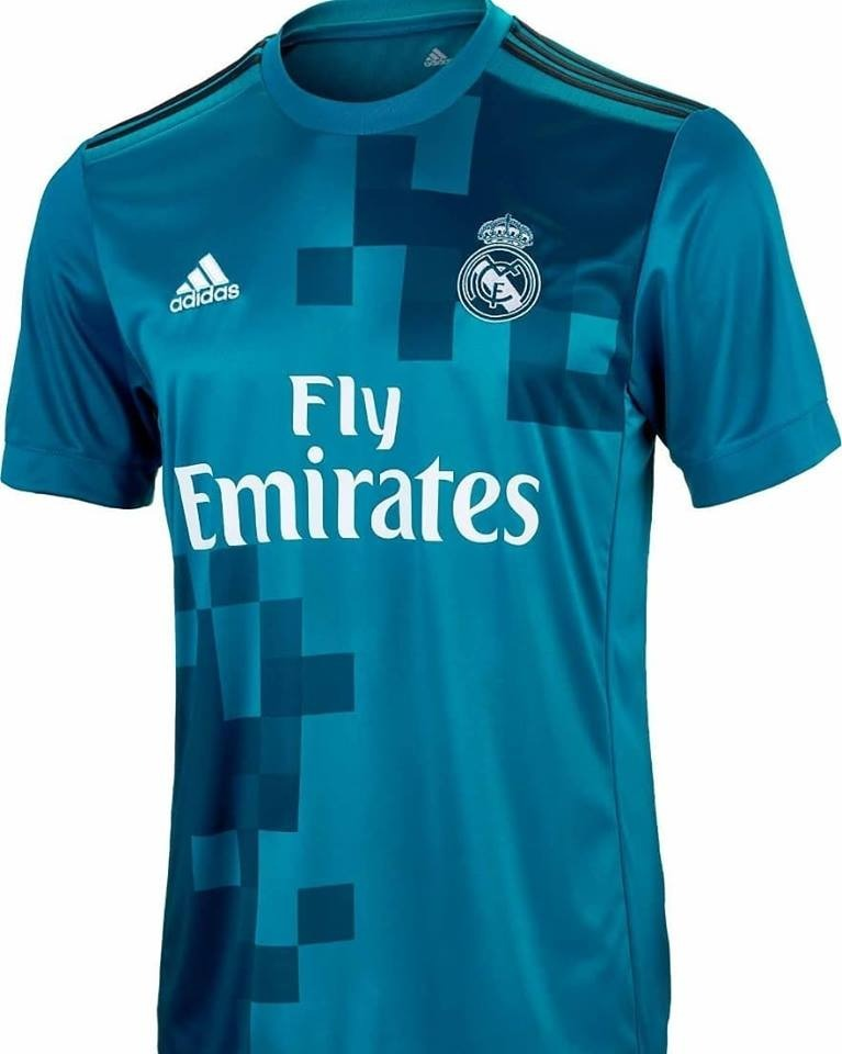 fac128af83b79 Camiseta Real Madrid Alternativa 2018 adidas Original -   800