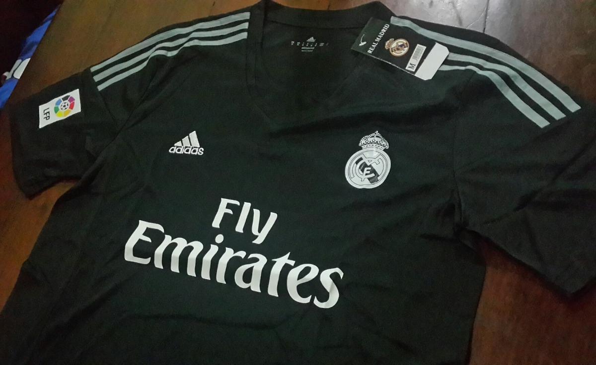 f83dcac29aeec Camiseta + Short - Real Madrid - Negro  gris - Arquero -   599