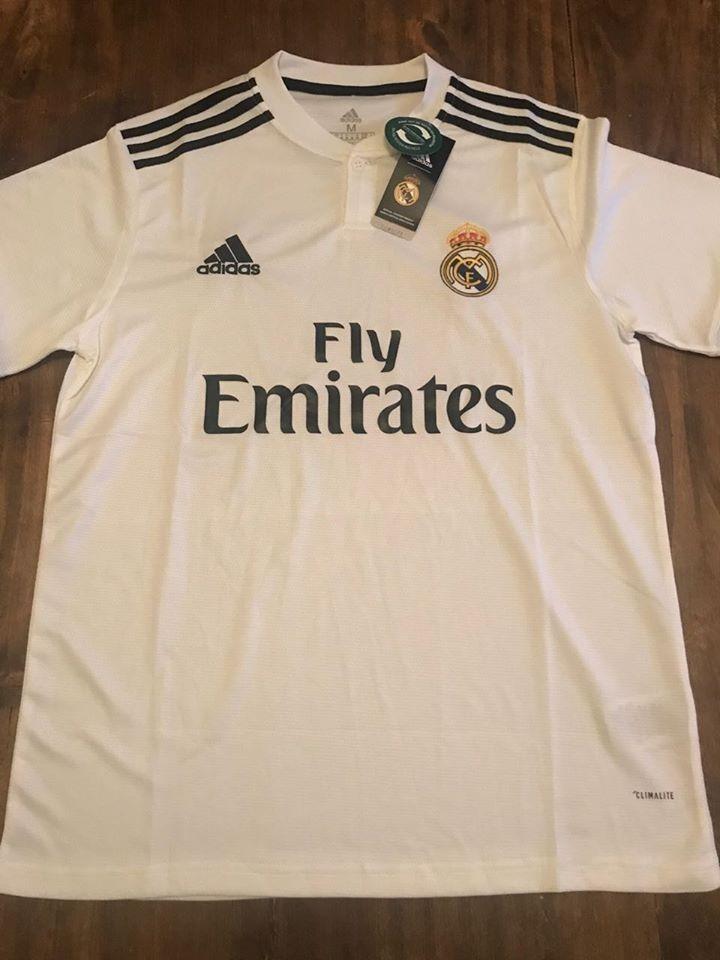 Camiseta Real Madrid Titular 2018-2019 -   1.199 bb197dcef6c75