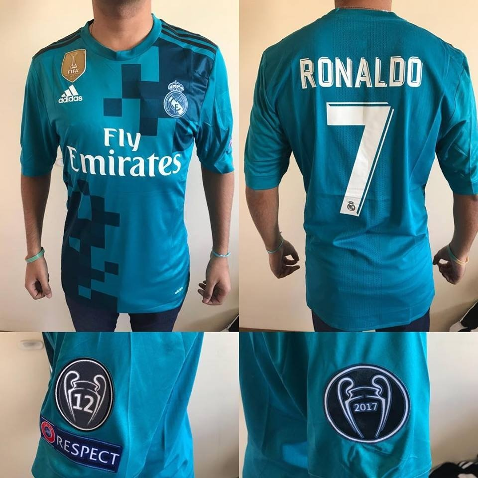 Camiseta Real Madrid 2018 Suplente adidas -  7 Ronaldo -   1.500 4b6f30c5960ea