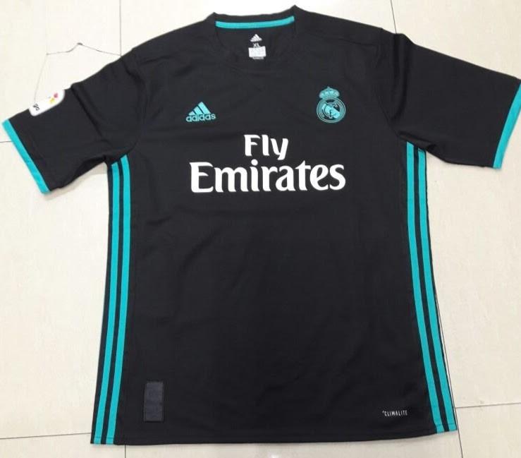 ff16046fe16fa Nueva Camiseta Real Madrid Negra 2018 -   985