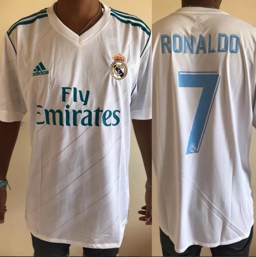 Camiseta De Real Madrid Titular adidas 2015 -  7 Ronaldo -   1.000 ... f5feebf028721
