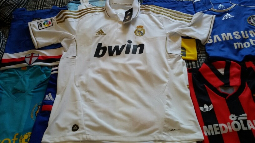 camiseta real madrid 2011 impecable sin uso. Cargando zoom... camiseta real  madrid. Cargando zoom. 2797b3a4ef158