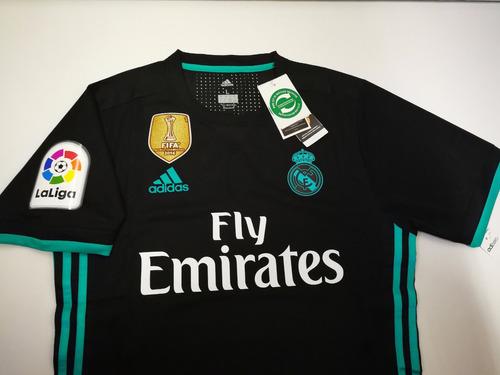 camiseta real madrid 2017 2018 adizero liga campeon de mundo. Cargando zoom...  camiseta real madrid fd2181ba4b1f9