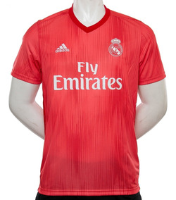 033d3d22 Camiseta Real Madrid Fly Emirates Clubes Primera River - Camisetas ...