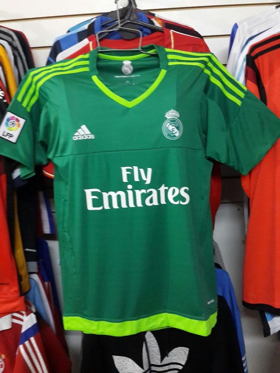 camiseta real madrid arquero 2da equipacion 2015   2016. Cargando zoom. 4f19eff927ae4