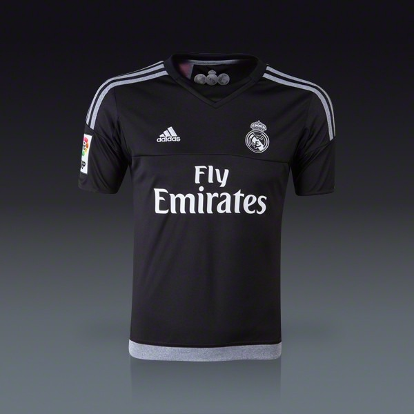 eb80a8246a0bb Camiseta Real Madrid Arquero Negra -   549