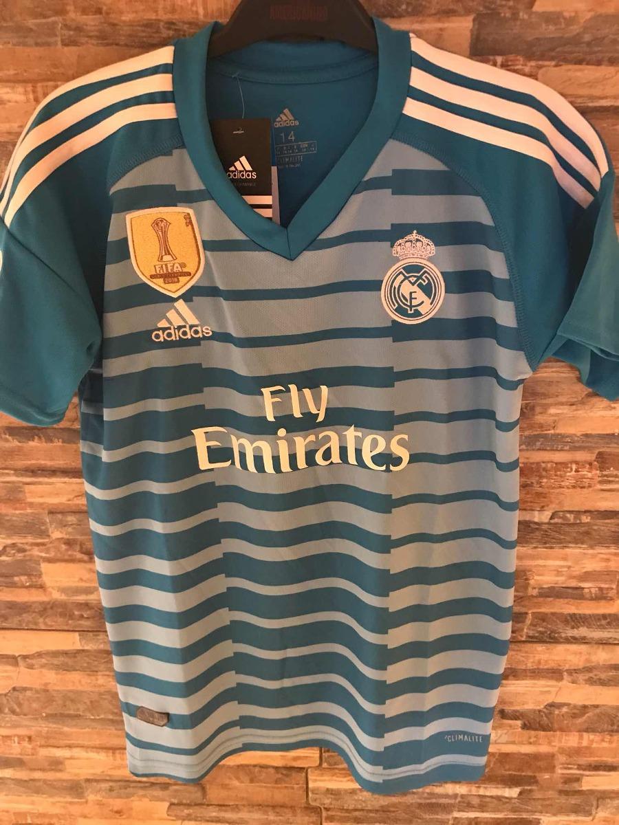 84043b59a Camiseta Real Madrid ( Courtois) Niños -   15.000 en Mercado Libre