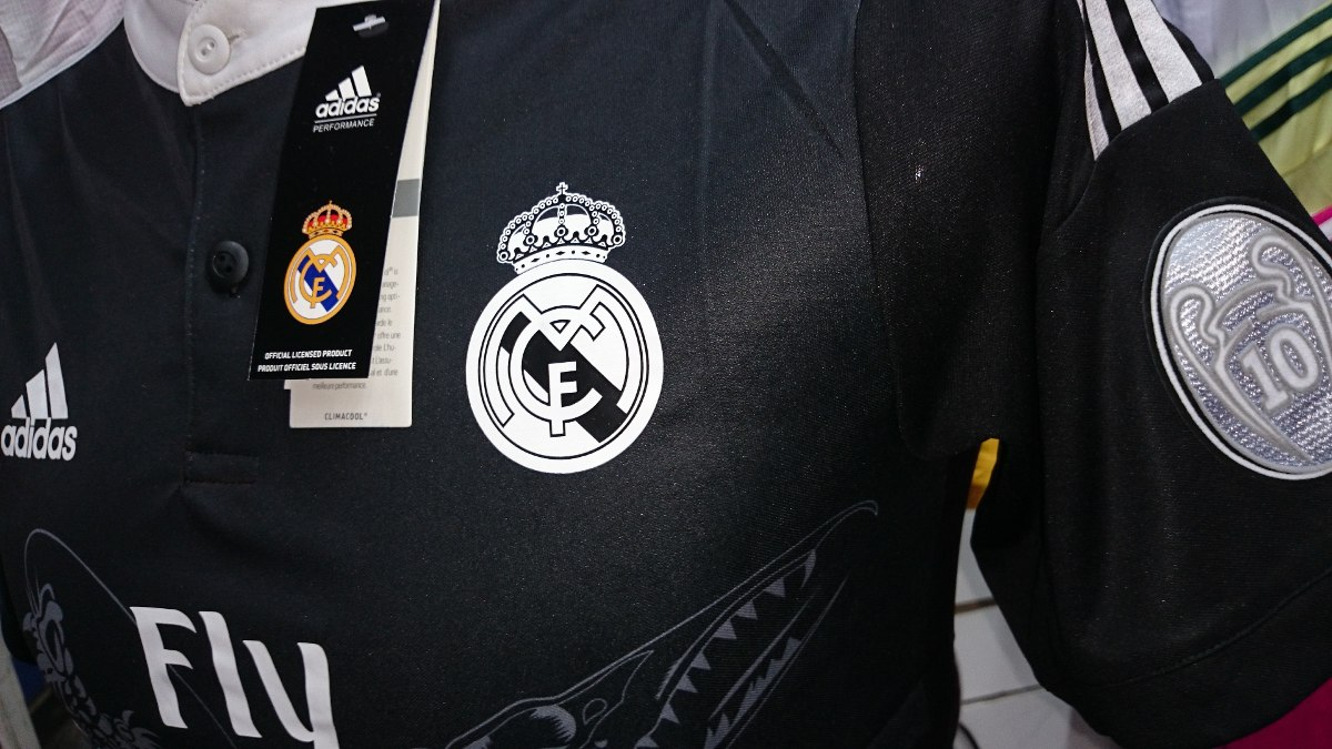 7a5b206d69a92 camiseta real madrid dragon 2015 logos champions respect. Cargando zoom.