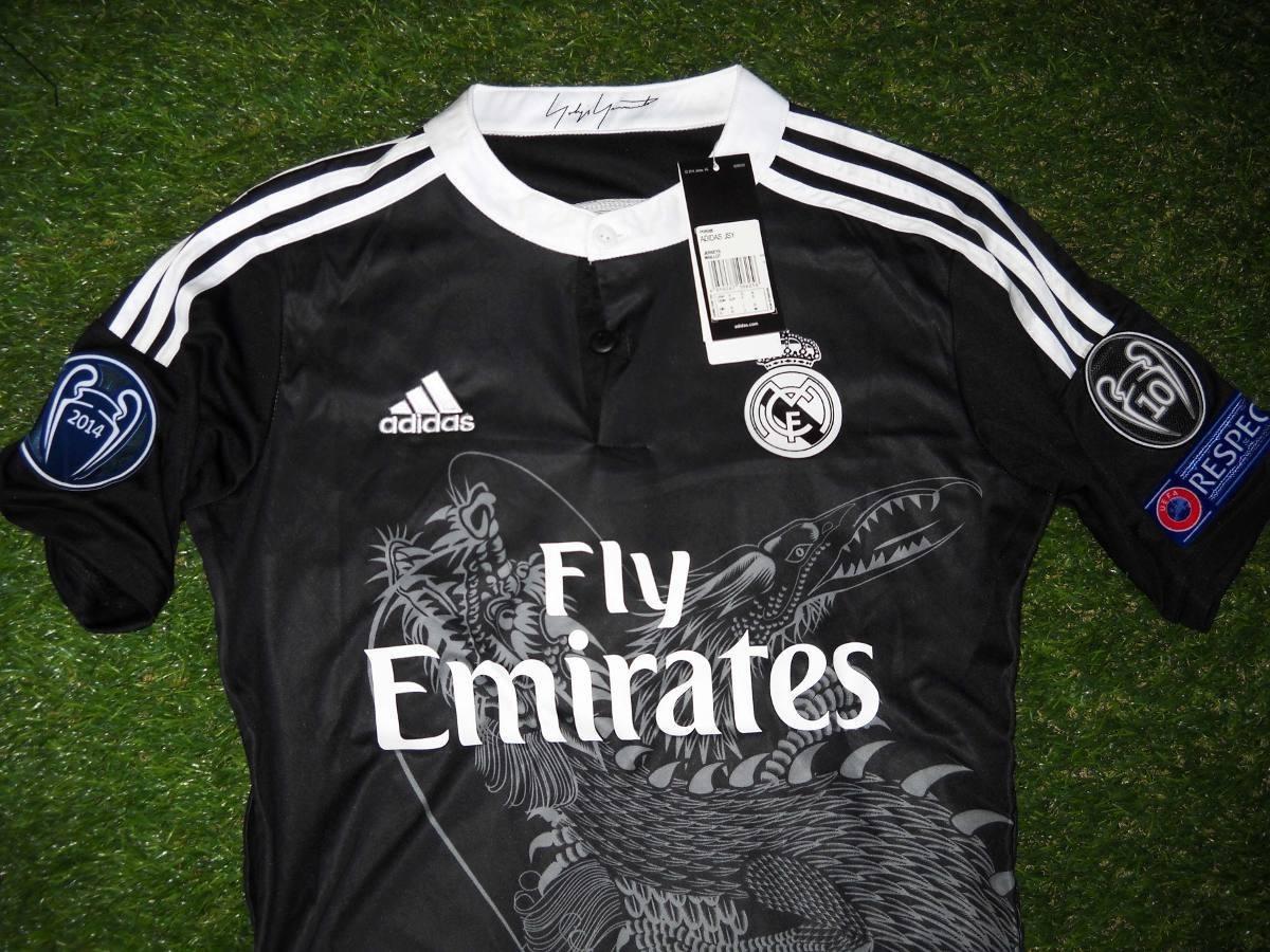 dfab5861c50c9 camiseta real madrid dragon 2015 logos champions respect. Cargando zoom.